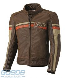 Lederjacke HELD, SevenT, braun-beige-orange