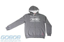 SHOEI Zip-Hoody, grau