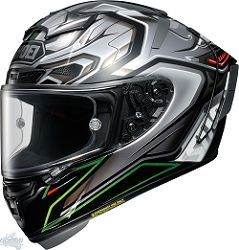SHOEI Helm X-Spirit 3, Aerodyne TC-4